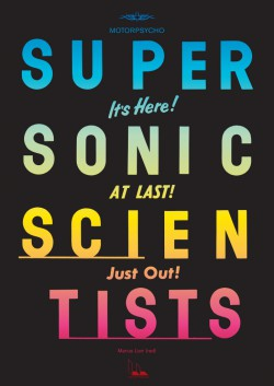 Supersonic Scientists poster